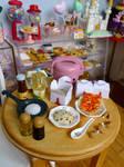 Chinese takeaway miniature by LittlestSweetShop