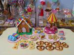 Rainbow miniatures by LittlestSweetShop