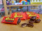Reese's Peanut Butter Cup miniatures by LittlestSweetShop
