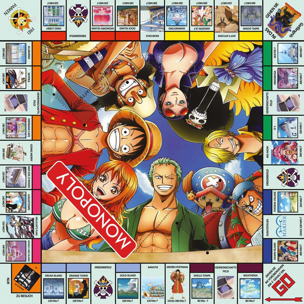 Monopoly one piece gma.amritasingh.com: Winning