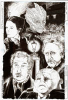 The Victorian Crimefighting Dream Team by greendalek