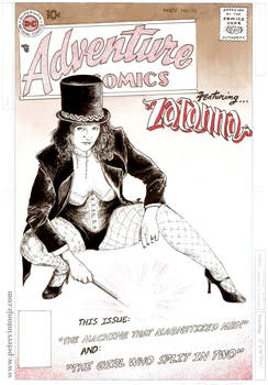 ZATANNA makes her first appearance