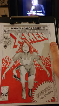 Jean Grey retro-style cover