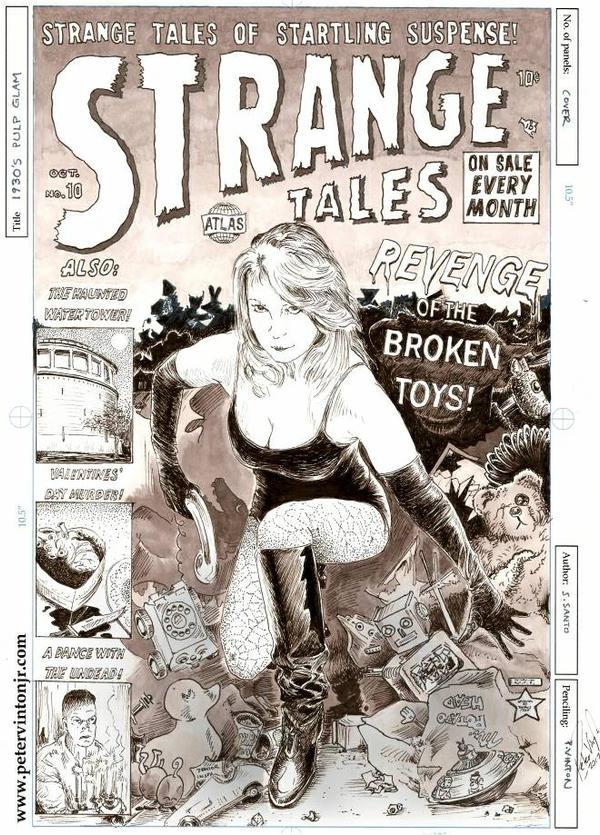 Strange Tales Revisited by greendalek
