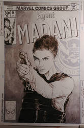 Agent Madani by greendalek