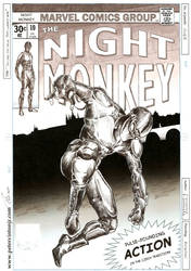 Night Monkey Cover - Issue #10