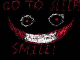 Jeff The Killer-Smile by Werewolf98765