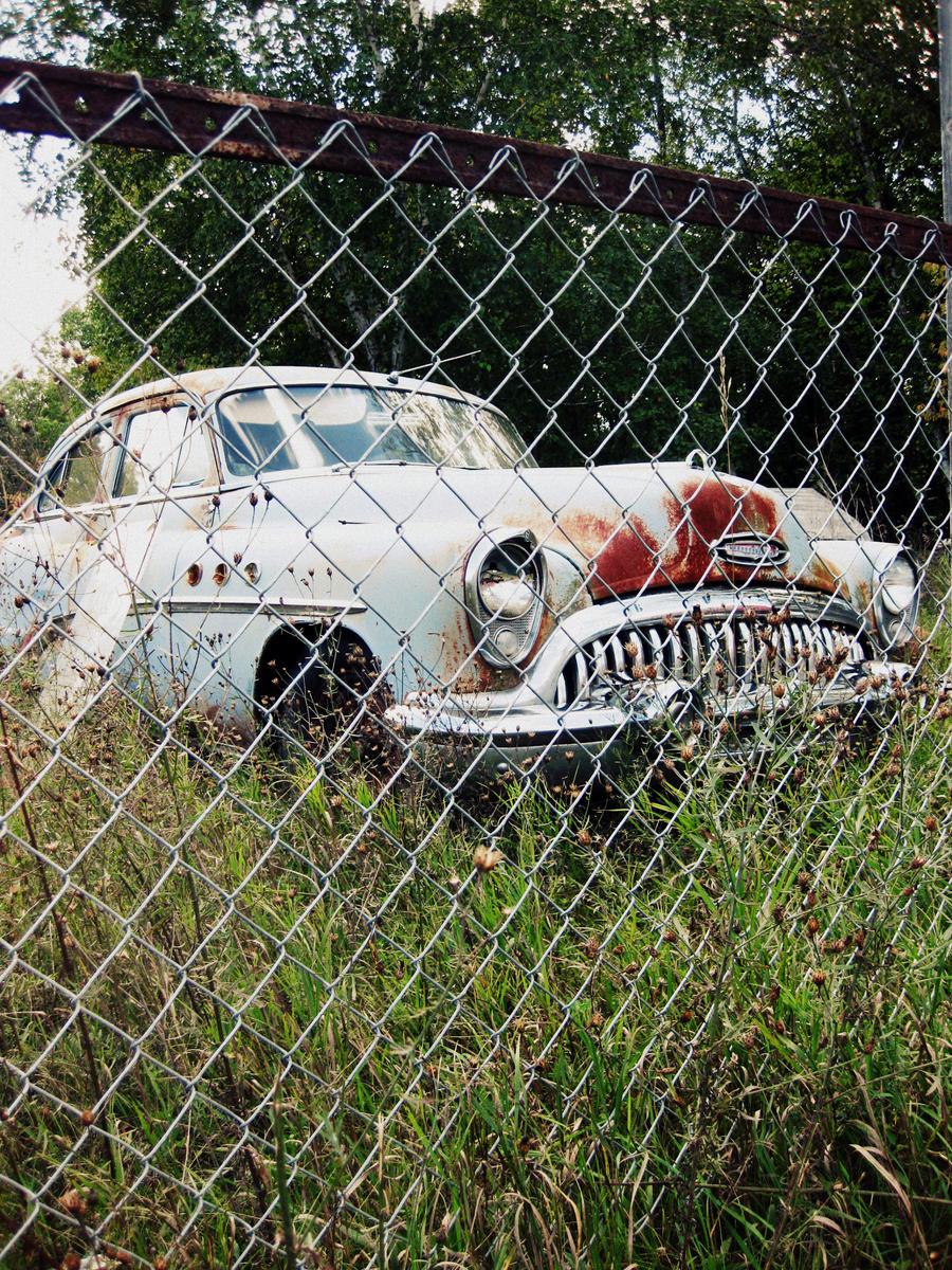 Abandoned Buick by ~MonkeeMobile on deviantART