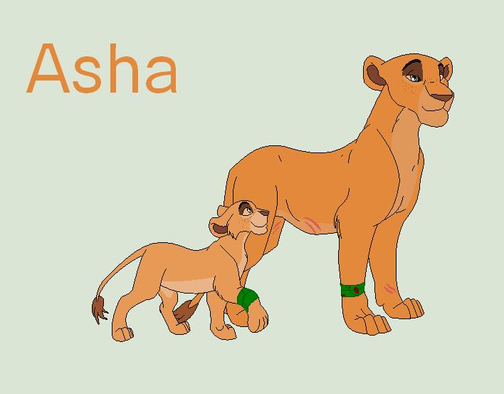 Asha's new look by attackazebra