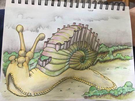 Princess Abigail's Magic Snail