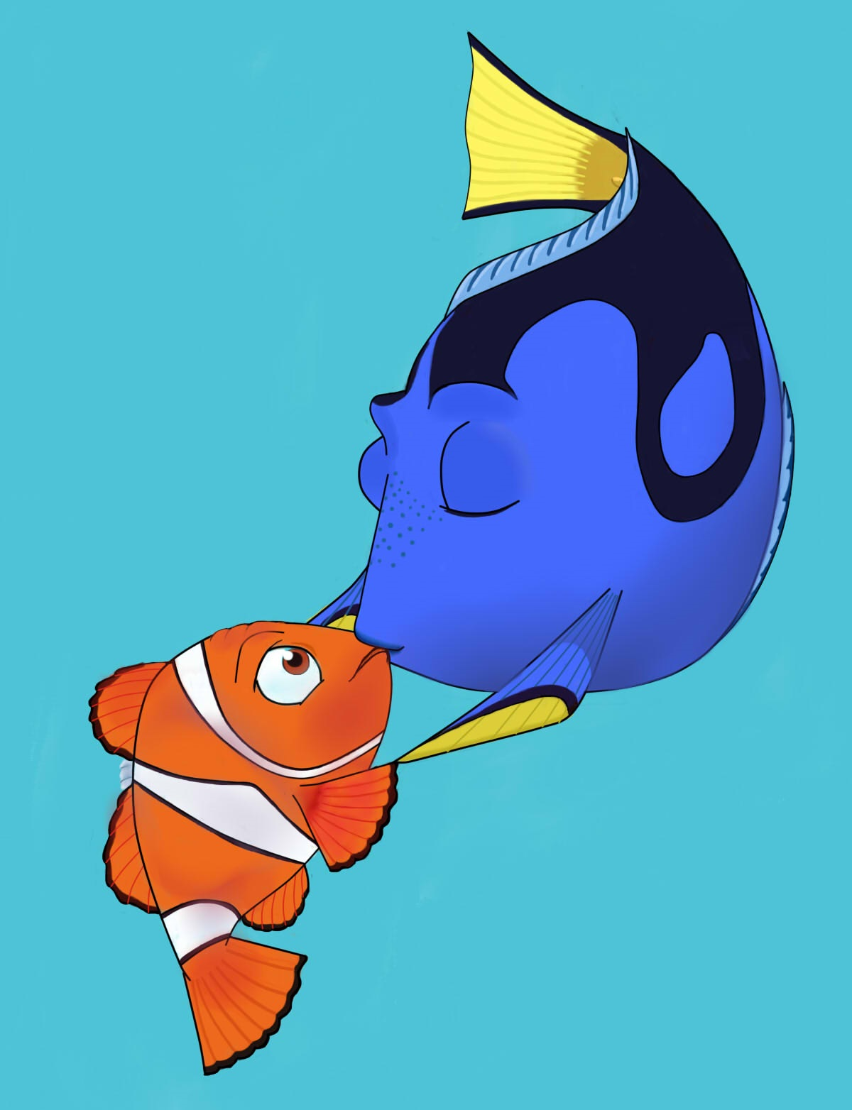 dory and marlin relationship