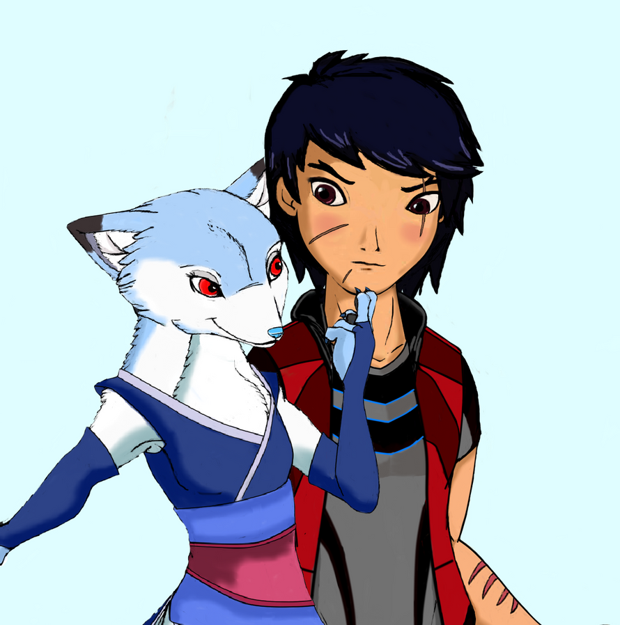 TDH And TGOG Kitsune Evil seduction by kazerxestelaris