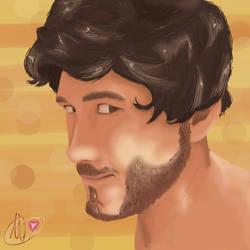 Mark Portrait by Yukioe