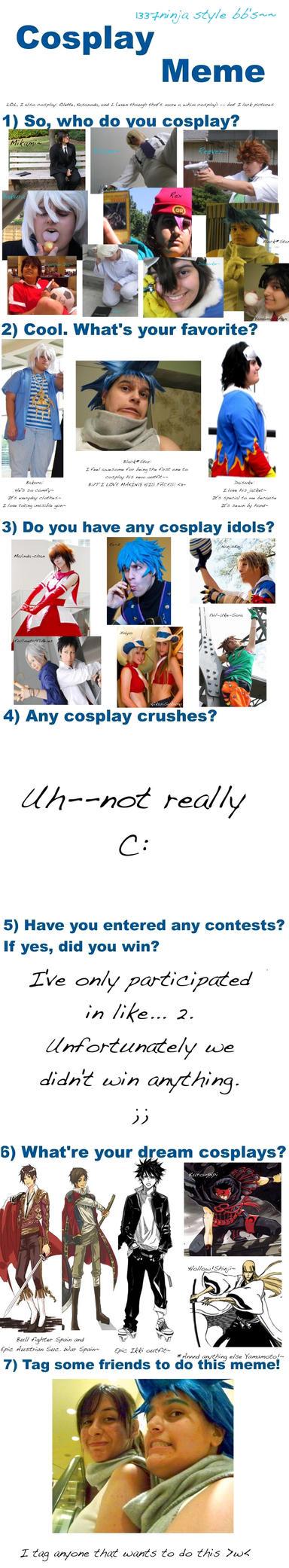 Cosplay Meme by 1337ni33j4