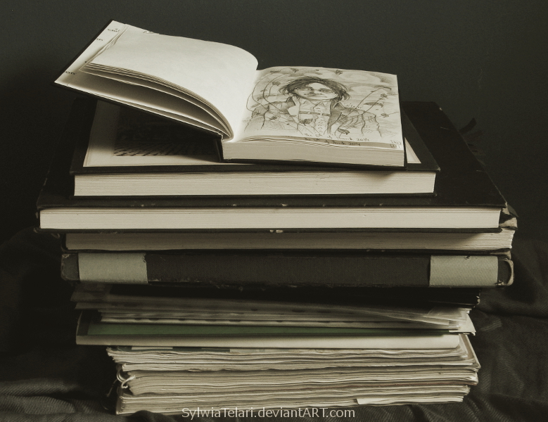 Sketchbooks by STelari