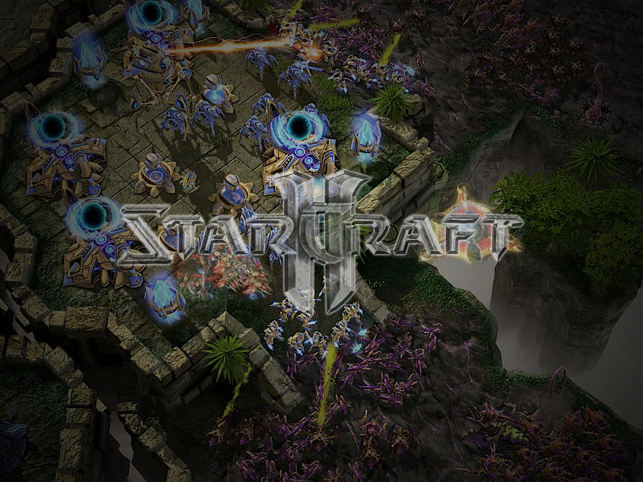 StarCraft II Wallpaper by cazcastalla