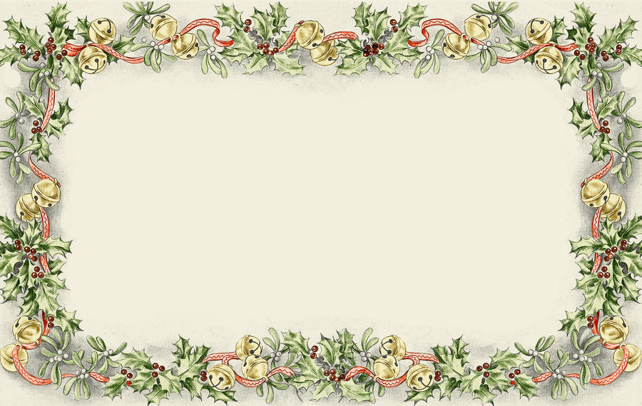 christmas clipart borders backgrounds - photo #28