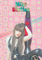 Miss Sixties Poster by cazcastalla