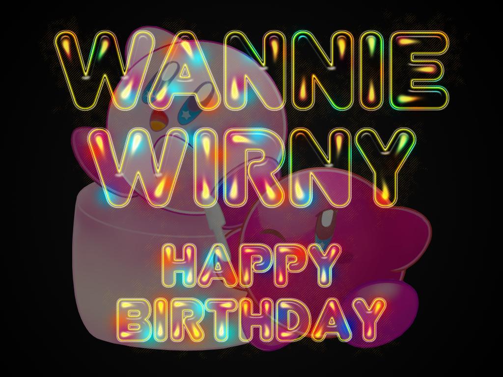 Wannie Wirny - Happy Birthday by cazcastalla