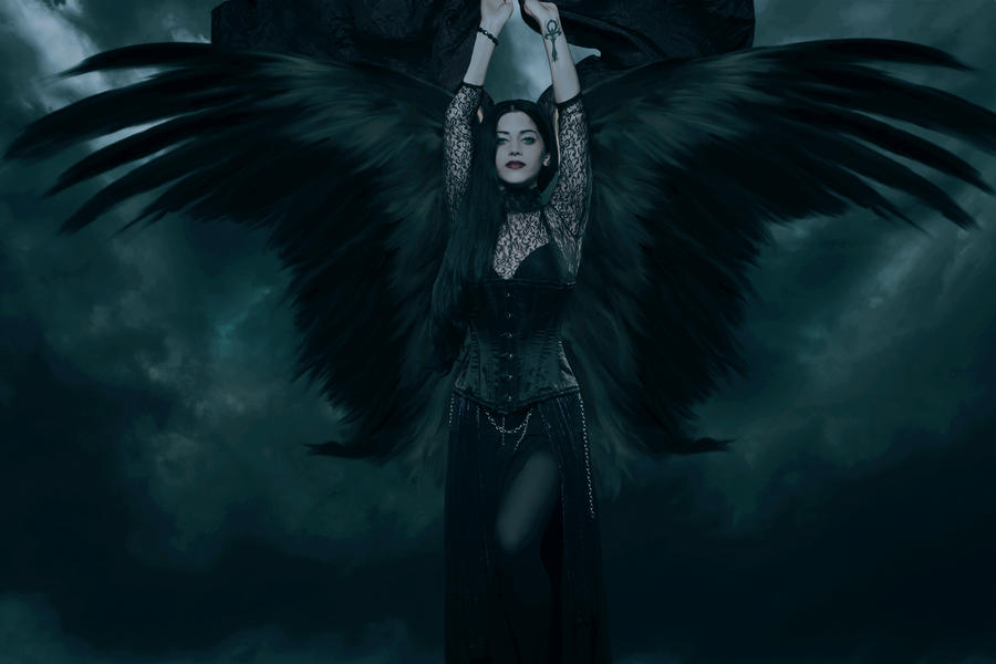 Black Angel by cazcastalla