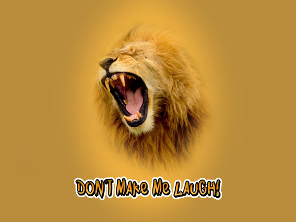 Don't Make Me Laugh by cazcastalla
