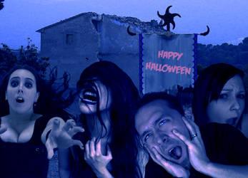 Horror Halloween by cazcastalla