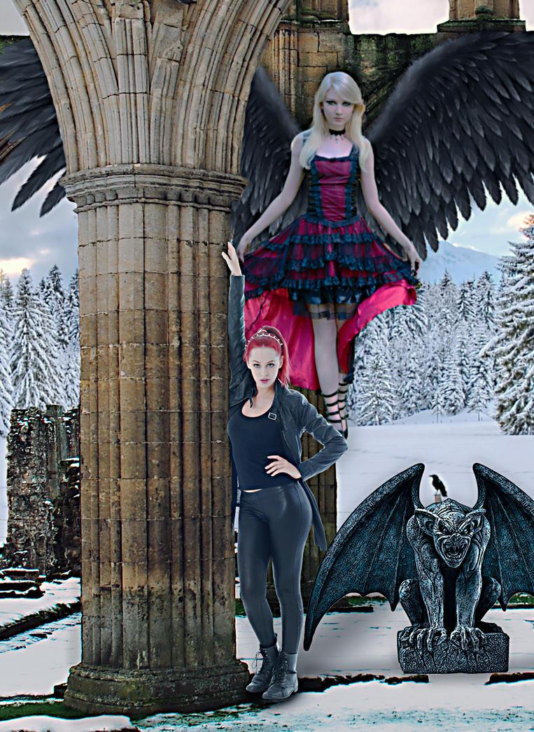 Gothic Winter by cazcastalla