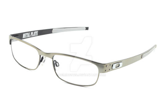 Oakley metal plate glasses