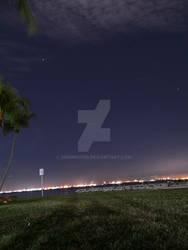 Stargazing at East Coast Park