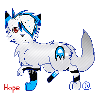 Hope Journal Doll (Pixel) by RukiaTheWolfie