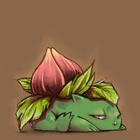 ivysaur by literalmetaphor