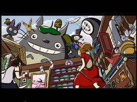 Studio Ghibli by JosephSinger