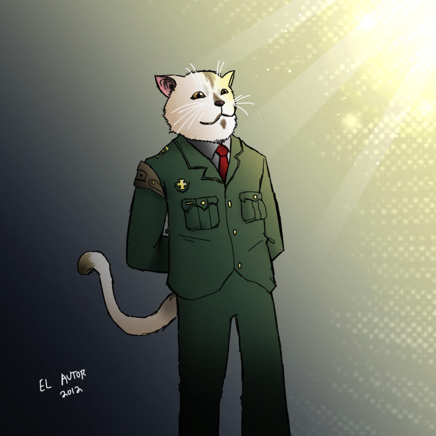 Major General Whiskers by Sea-Snail-Studio