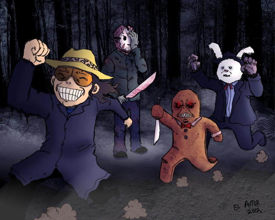 Dross y los monstruos ridiculos by Sea-Snail-Studio