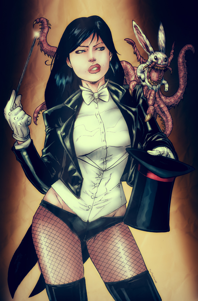 Zatanna by Chronicle-l