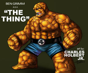 Fantastic Four Thing By Kidnotorious by Chronicle-l