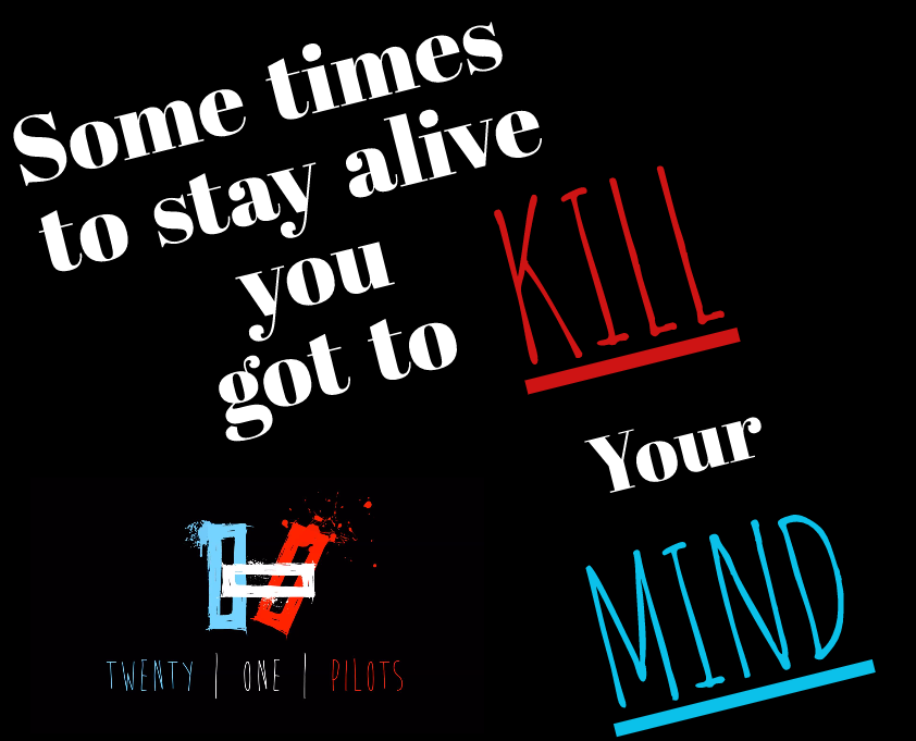 Twenty One Pilots quote by Skully419 on DeviantArt