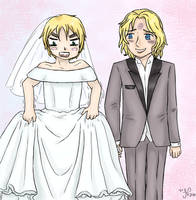 Hetalia - Marriage by ArisaJune