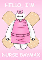 Nurse Baymax by ArisaJune