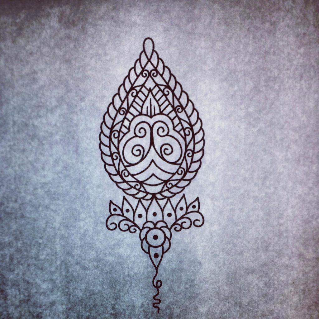 ornament tattoo design by genotas on deviantart. Black Bedroom Furniture Sets. Home Design Ideas