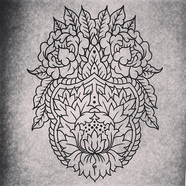 Mehndi ornament tattoo design by genotas on deviantart for Tattoo shop etiquette