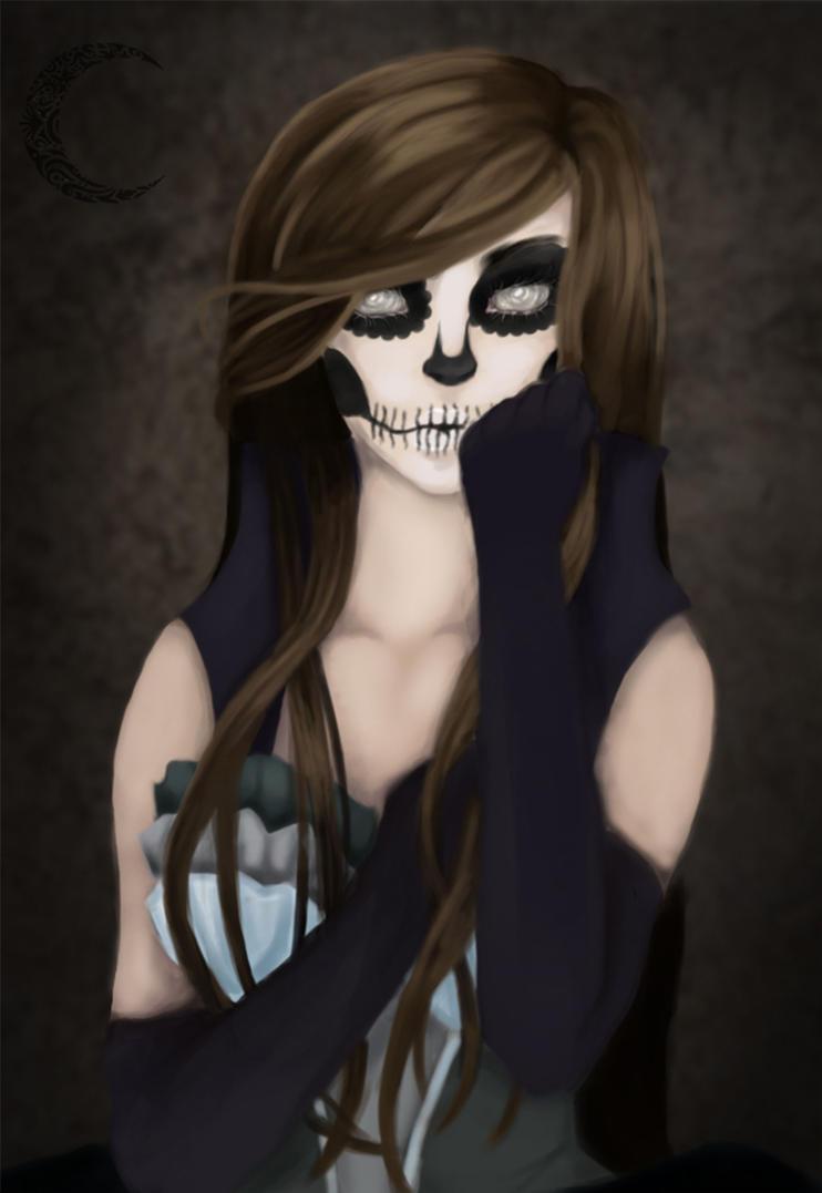 Dans la grotte de Lylwena Skullgirl_by_lylwena-d8i9wqf