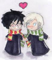 Harry and Draco by kuroaloeart