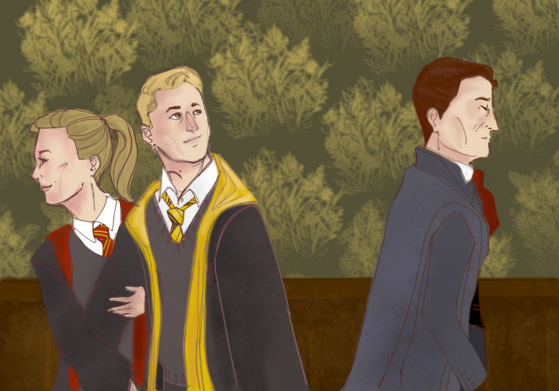 Hogwarts: A History (of Pining) by kuroaloeart