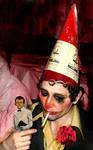Drunken clown