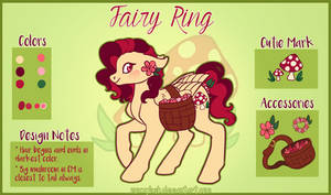 Fairy Ring: MLP OC by NoxxPlush