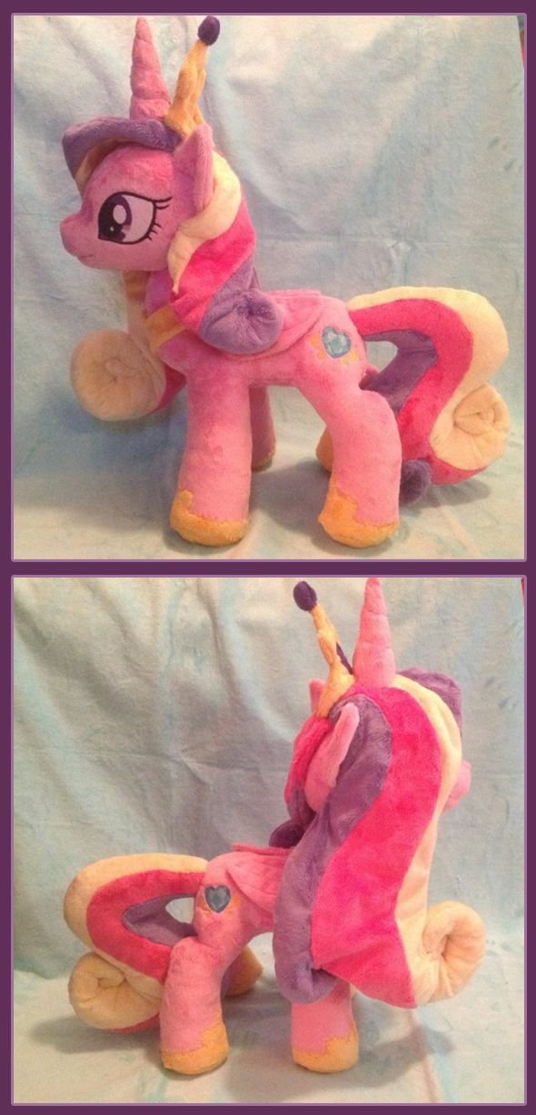 Princess Cadance Plush by Noxx-ious
