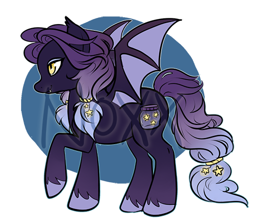 SOLD: Bat Pony! by Noxx-ious