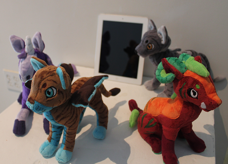 Virtual Pets Plush Project! by Noxx-ious