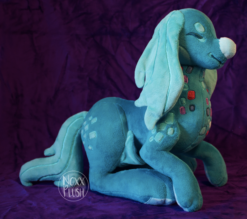 Giveaway Prize: Balbina the Giraffaroo by NoxxPlush